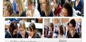 المنح الدراسية المقدمة في إطار البرامج الأوروبية