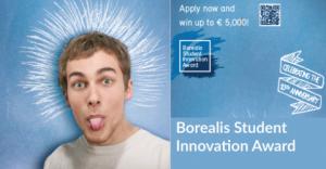 Prix de l'innovation des étudiants Borealis 2018