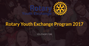 Rotary Youth Exchange Program 2017
