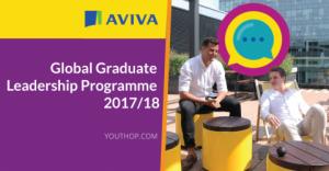 Programme mondial de leadership pour les diplômés d'Aviva 2017-2018