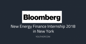Bloomberg New Energy Finance Internship 2018 in New York