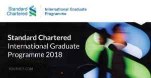 Standard Chartered International Graduate Programme 2018