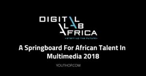 laboratoire numérique Talent africain en multimédia 2018 en Afrique