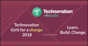 Technovation filles pour un changement 2018
