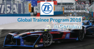 ZF Global Trainee Program 2018 in Germany