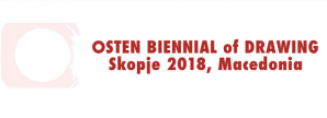 Biennale  competition de dessin de Skopje de l'OSTEN
