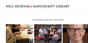 Hill musée et manuscrit Bibliothèque Heckman Stipends 2018, États-Unis