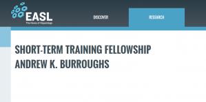 EASL Andrew K. Burroughs offre une bourse de formation à court terme 2018