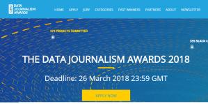 Prix du journalisme de données 2018