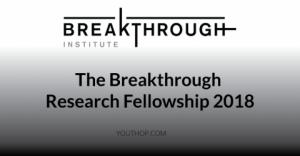 The Breakthrough Research Fellowship 2018