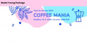 Modèle jeune paquet café mania compétition 2018