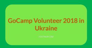 GoCamp volontaire 2018 en Ukraine