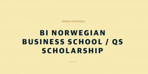 Bourse d'études BI de l'école de commerce norvégienne QS 2018, Norvège
