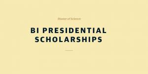 BI bourses d'études présidentielles des écoles de commerce norvégiennes 2018, Norvège