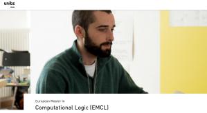 Programme de Master en Logique Computationnelle 2018, Université Libre de Bozen-Bolzano, Italie