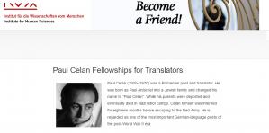 Bourses Paul Celan pour les traducteurs 2018-2019, Autriche