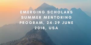 Programme de mentorat estival des boursiers émergents, du 24 au 29 juin 2018, États-Unis