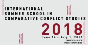 2018 École d'été internationale en études comparatives de conflits