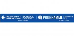 école d'été - transparence école internationale sur l'intégrité, 2-8 juillet 2018, Lituanie