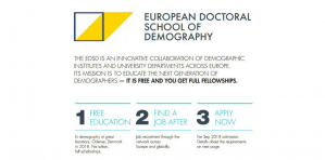 Full Scholarships are Available for European Doctoral School of Demography 2018-2019, Germany and Denmark