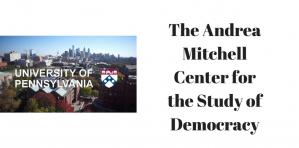 Andrea Mitchell centre des bourses de recherche de premier cycle 2018-2019, Université de Pennsylvanie, États-Unis
