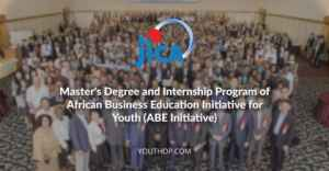 Master's Degree  Internship Program of African Business Education Initiative for Youth 2018