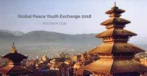 Programme d'échange de la paix mondiale de la jeunesse 2018 au Népal