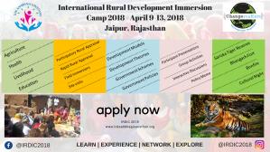 IRDIC 2018: International Rural Development Immersion Camp