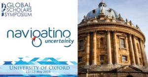Colloque mondial: Les chercheurs d'Oxford au Royaume-Uni 2018
