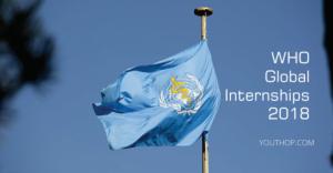 Stages mondiaux de WHO 2018