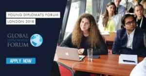 Jeunes Diplomates Forum 2018 à Londres