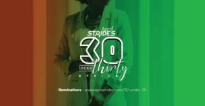 Agrostrides 30 moins de 30 (Afrique) nominations