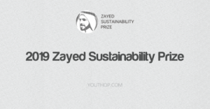 2019 Zayed Sustainability Prize