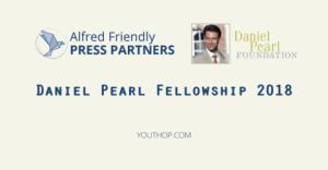 Daniel Pearl Bourse 2018