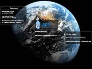 Atelier international de formation sur les données de la grande Terre pour la réduction des risques de catastrophe