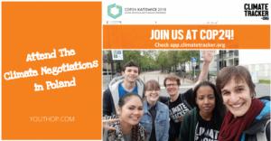 Rejoignez l'équipe Climate Tracker à la COP24 en Pologne
