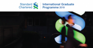 Standard Chartered International Graduate Programme 2019