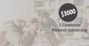 Bourse de recherche de 3000  en commerce électronique 2019