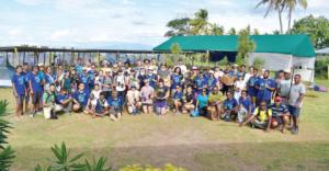 Camp médical de l'hémisphère sud en 2018 aux Fidji