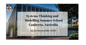 École d'été sur la modélisation et la pensée des systèmes, 25-29 novembre 2019, Australie