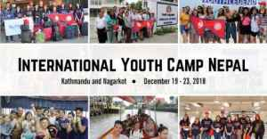 8th International Youth Camp Nepal 2018
