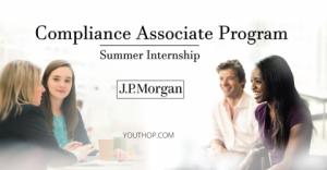 Compliance Associate Program- 2019 Internship at J.P.Morgan