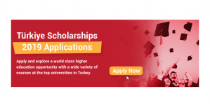 Fully funded scholarships in Turkey for international students: