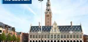 منح ماجستير ممولة في بلجيكا لدراسة تخصصات العلوم في جامعة K.U.Leuven لعام 2019