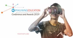 Conférence et prix Reimagine Education 2019 à Londres
