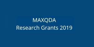 La subvention MAXQDA Recherche pour le changement - Postulez maintenant
