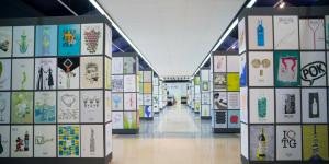 Création de l'affiche biennale internationale Terras Gauda - Concours Francisco Mantecón