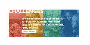 Solve les défis mondiaux 2019