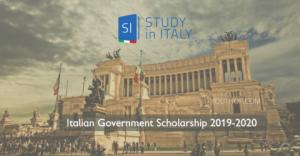 Étudier en Italie: bourse du gouvernement italien 2019-2020