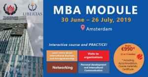 Rejoignez le module MBA 2019 aux Pays-Bas